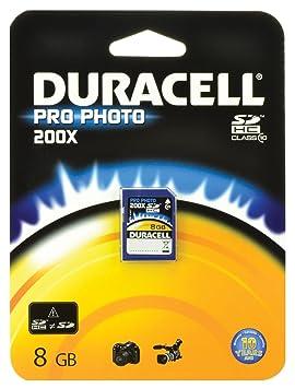 Duracell Class - ProPhoto Tarjeta de memoria SDHC 8 GB 10.200x