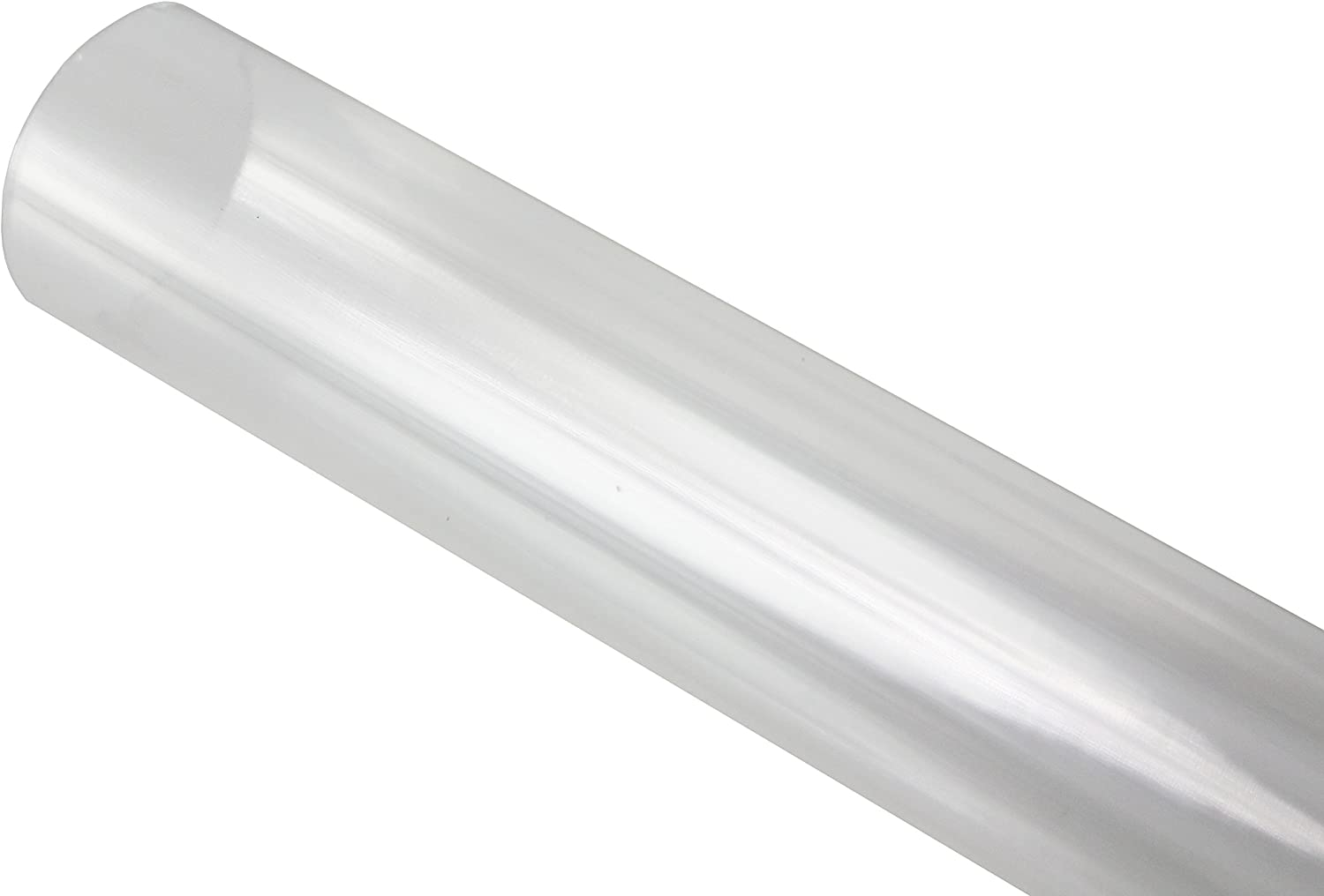 T12 8/' Clear Tube guard Fluorescent Plastic Light Cover  Bulb Protectors 12