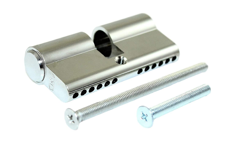 BKS Blindzylinder/Blindschloss B 3002 Baulä nge: 27/27 mm incl. verschiedener Stulpschrauben BKS/SN-TEC