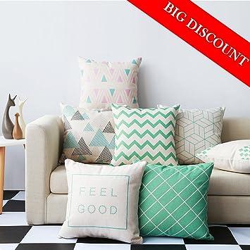 Coliang Schone Kissen Schutzhulle Skandinavischer Stil Sofa Kissen