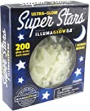 Kangaroo's Ultra Glow in the Dark Stars; 200 Count w/ Bonus Moon