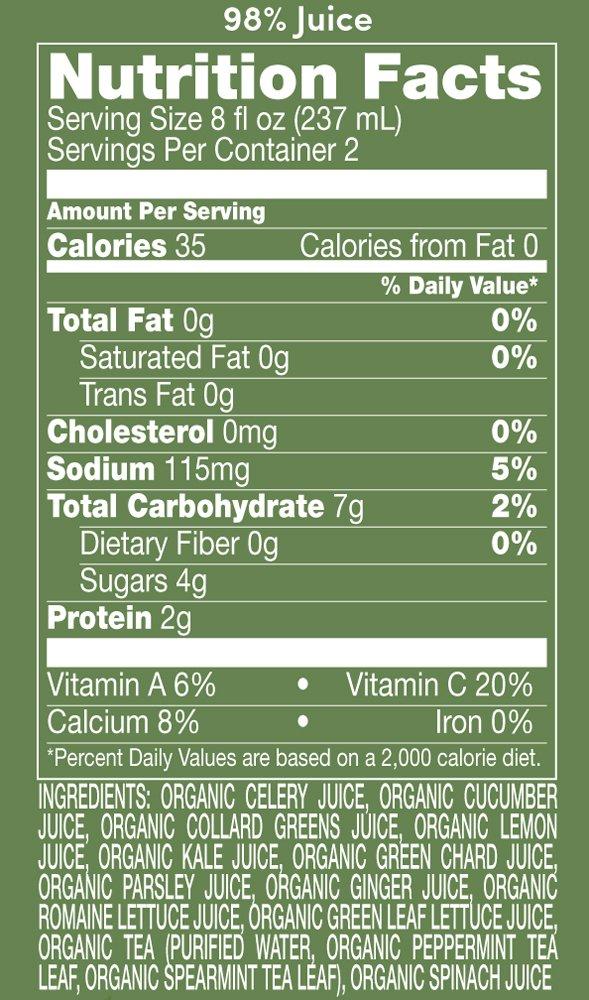 Suja Nutrition Facts Blog Dandk