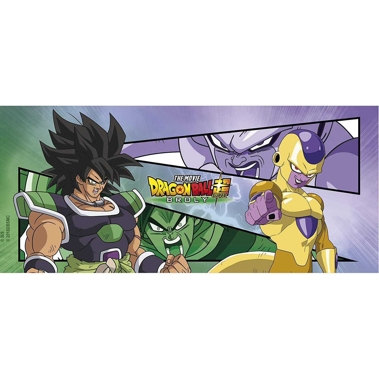 ABYstyle 320 ml Broly vs Freezer Dragon Ball Super Broly Taza