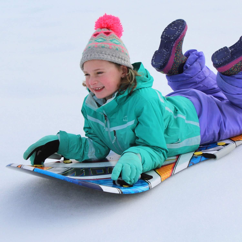 Flexible Flyer Snow Screamer 2-Person Snow Sled. Foam Plastic Double Sno Slider by Flexible Flyer (Image #3)