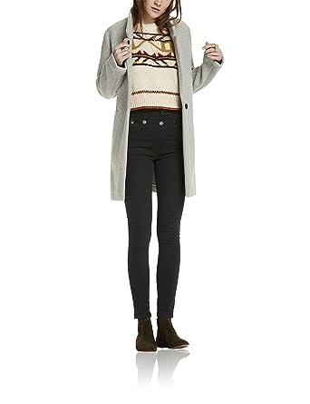 Manteaux et blousons Scotch & Soda Bonded Wool Jacket in Checks and Solids Blouson Femme Manteaux