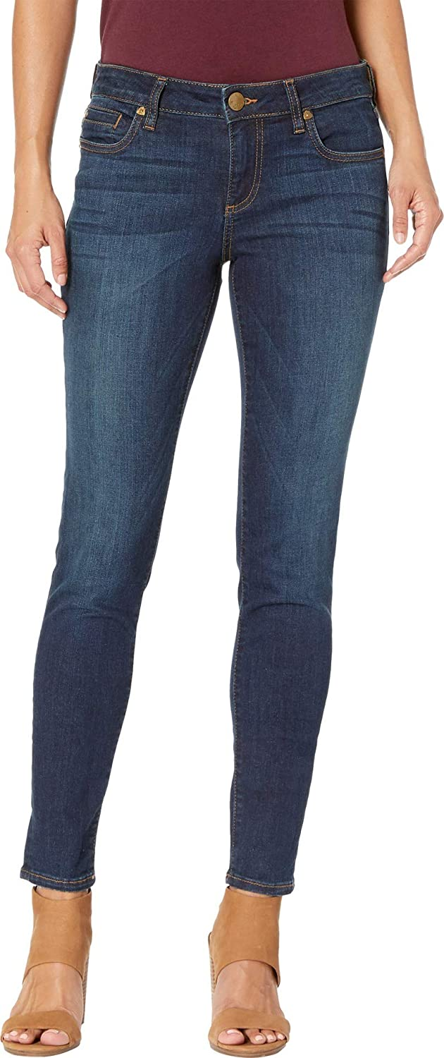 Systematic Euro Base Wash KUT from the Kloth Womens Petite Diana Skinny in Systematic Euro Base Wash