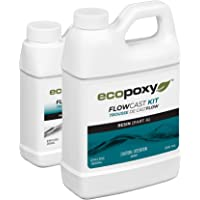 Ecopoxy Flow Cast (Liquid Plastic 2:1 Ratio) 750ml   Sold by OM Creation Inc