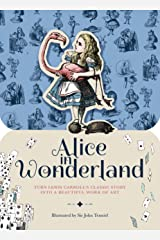 Paperscapes: Alice in Wonderland: Turn Lewis Carroll's classic story into a beautiful work of art Hardcover