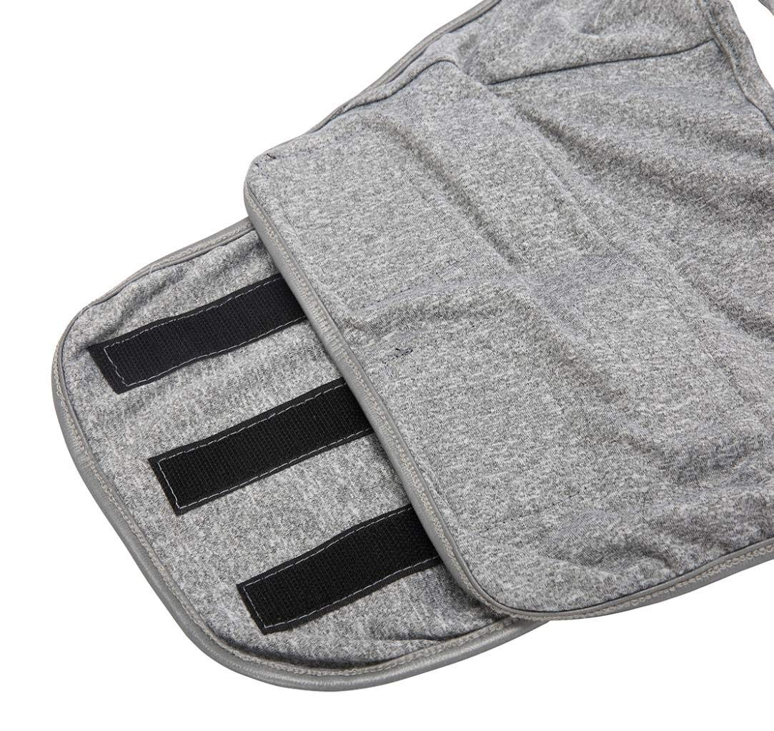 M Dog Calming Vests Anxiety Relief Coat Jacket Vest Warm Pet Outfit Clothes Keep Calm Wrap Vest fit for Thunder /& Anxiety Grey