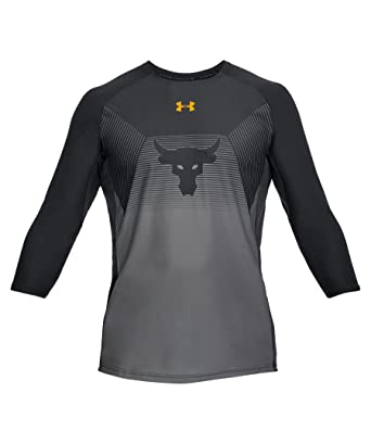 Under Armour UA x Project Rock Vanish ¾ Sleeve at Amazon Men s ... 0e220517ca7