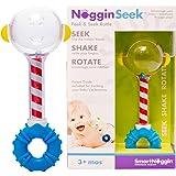 SmartNoggin NogginSeek Peek & Seek Rattle Baby Toy