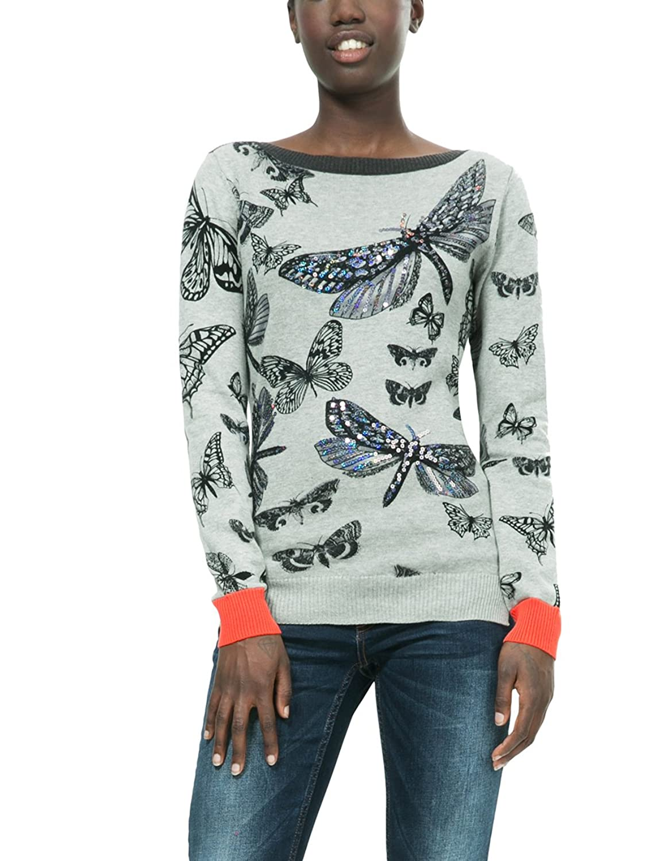 Desigual Damen Pullover Jers_Win