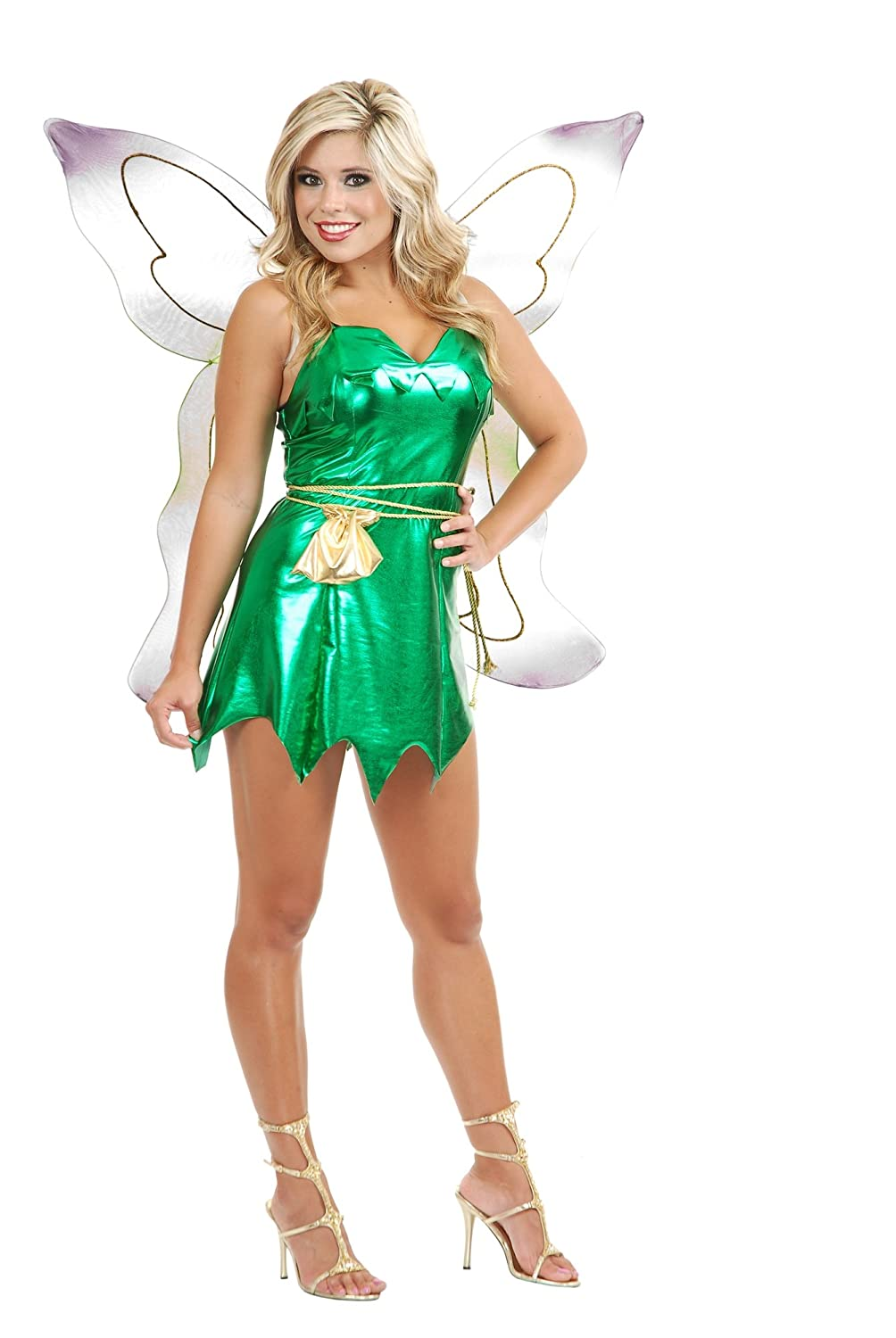 Tinkerbell Dress Cosplay Costume Adult Tinker Bell Party Dress From Peter Pan