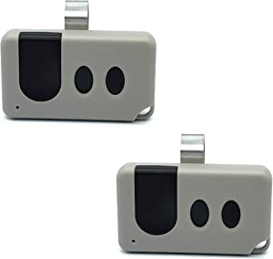 Alisontech (139.53753) 371LM Remote only for (Purple Learn Button) of Sears Craftsman/Liftmaster Garage Door Opener(2Pack)