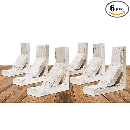 Ekena Millwork Bktb03x08x10trwh Case 6 Wood Bracket 3 12 W X 10