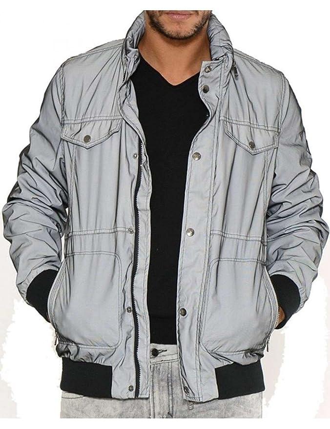 Kaporal Jeans - Chaqueta Muller Jeans - XL, Gris: Amazon.es ...
