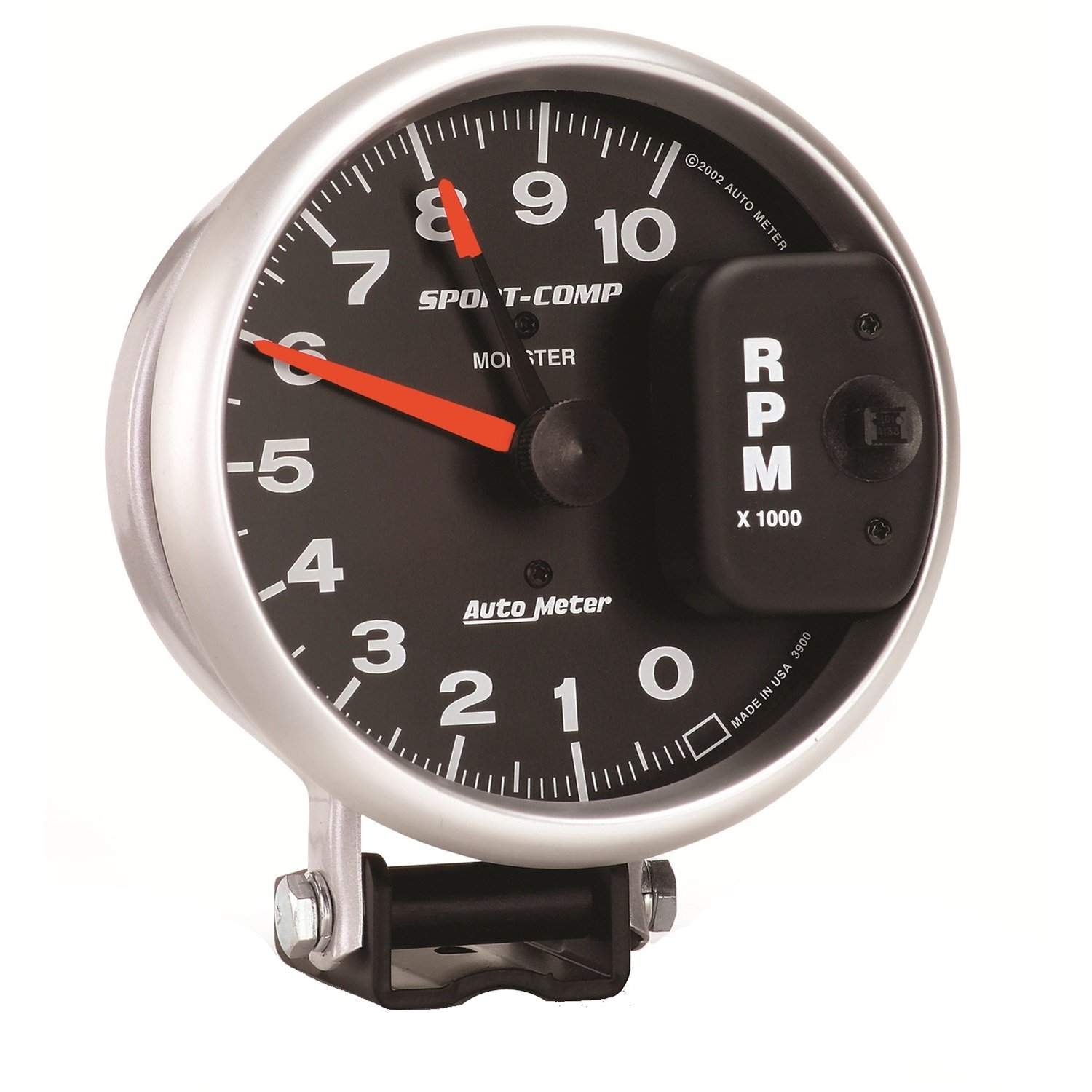 71HwLDUjswL._SL1500_ amazon com auto meter 3900 sport comp monster tachometer automotive auto meter sport comp tach wiring at crackthecode.co