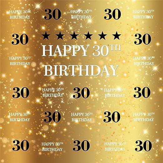 Ofila 30 Geburtstag Hintergrund 5 X 150 Happy Birthday Kamera