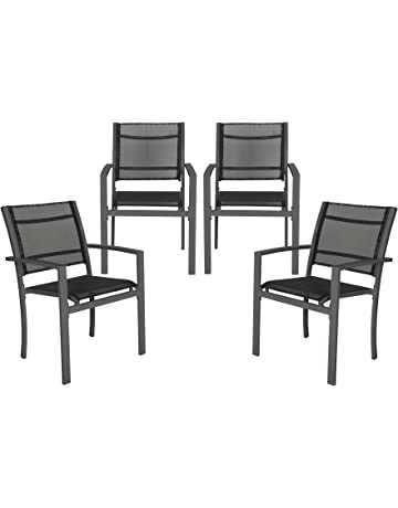 Amazon.co.uk: Garden Dining Chairs: Garden & Outdoors
