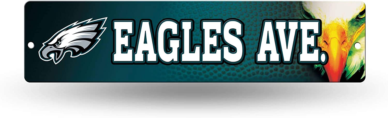 Rico NFL High-Res Plastic Street Sign