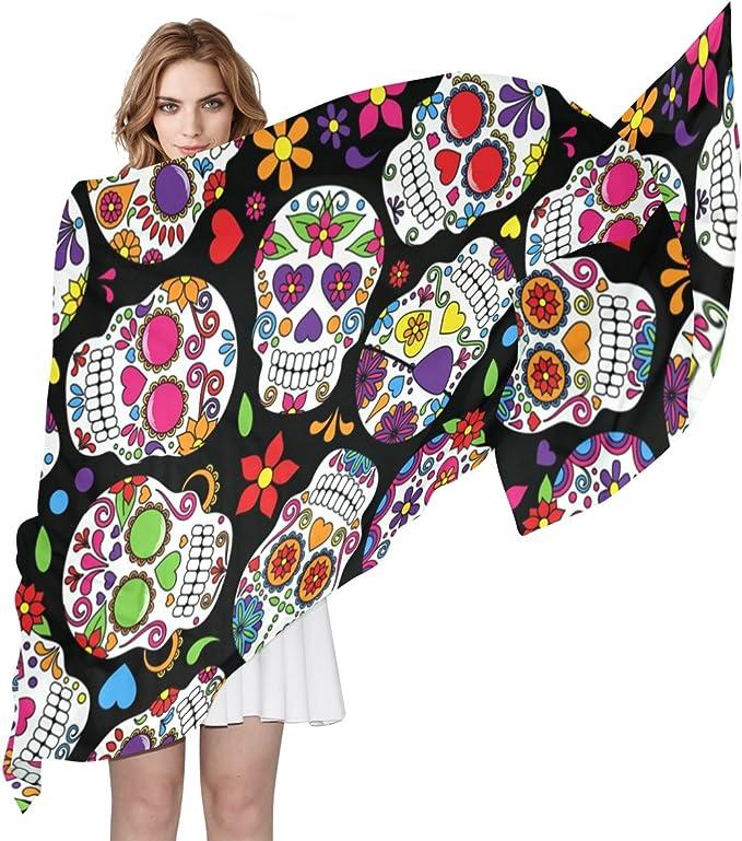 Acheter foulard echarpe bandana tete de mort online 5