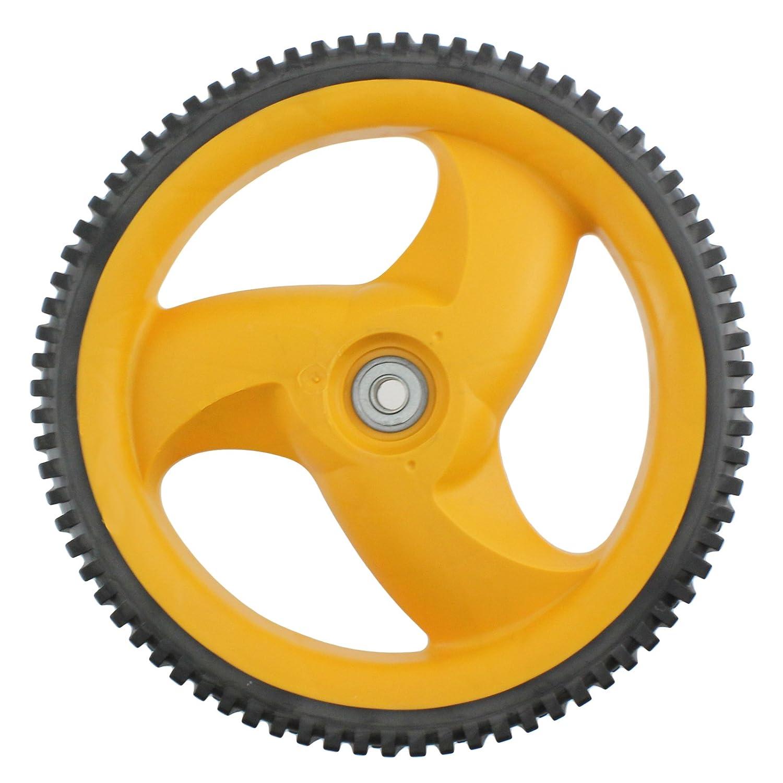 Genuine FLYMO Rear Wheel & Tyre For McCulloch M53-160DW Lawnmower
