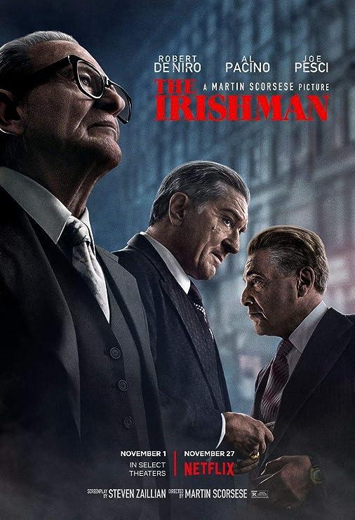 printdesign The Irishman - Movie Poster Wall Decor Cartel de ...