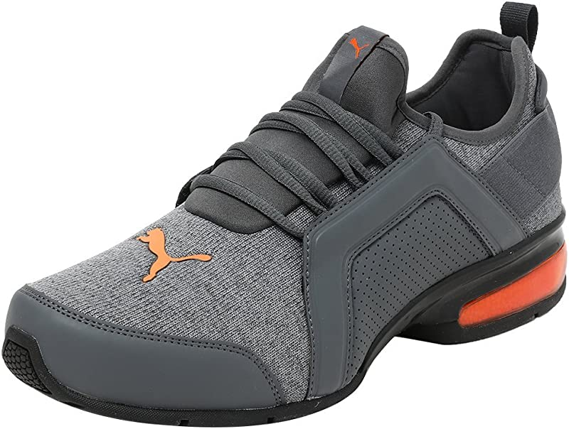 Puma Leader VT Fresh Knit Damen Herren Unisex Grau (Iron Gate Firecracker)