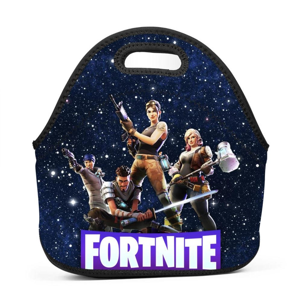 Oiguio Fortnite Supply Llama Lunch Bag Lunch Box Tote Bag for Men Women Adults Kids Toddler Nurses with Adjustable Shoulder Strap - Best Travel Bag