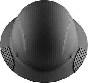 LIFT Safety HDFM-17KG Dax Carbon Fiber Composite Hard Hat - Matte Black
