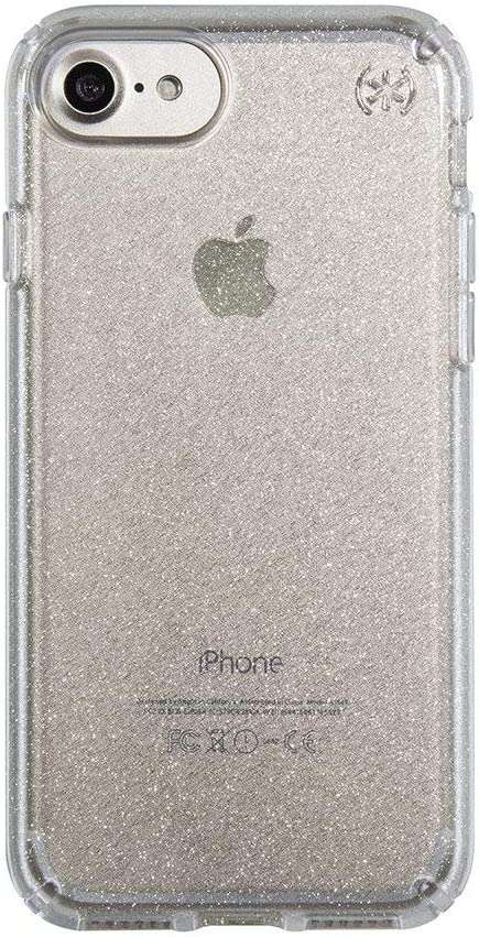 iPhone 6/6s Clear Glitter Cover Mobile