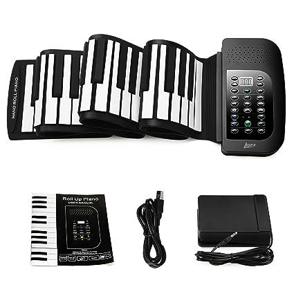 fd70dec73e7 Amazon.com  Lujex Roll Up Piano