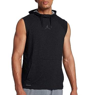 get online buying cheap exquisite style Nike Men's Jordan 23 Tech Sphere Sleeveless Hoodie - Black ...