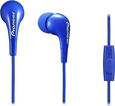 Pioneer SE-CL502T-L Color Azul Auriculares para Smartphone con micrófono: Amazon.es: Electrónica