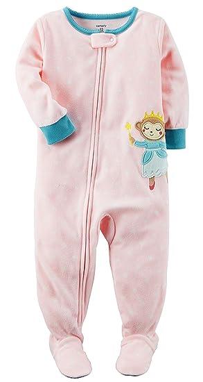 4e5b7d16c3b5 Carter s Girls  12 Months-14 1 Piece Cupcakes Fleece Pajamas  Amazon ...