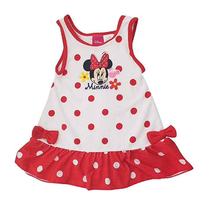 9300962a55ac Amazon.com  Minnie Mouse Disney Girls Infant Toddler Terry Cover-up ...