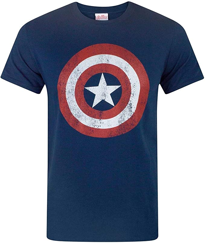 Marvel Capitan America - Camiseta para Hombre: Amazon.es: Ropa y ...