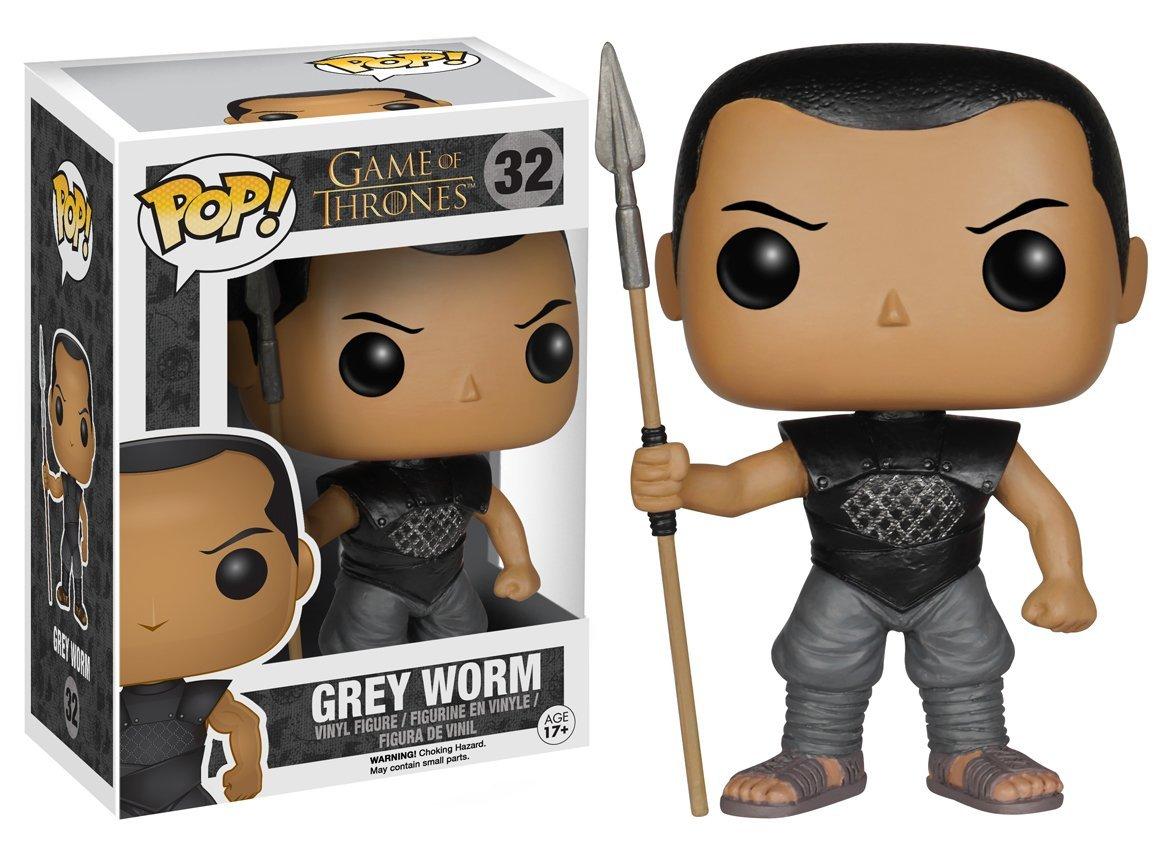 Grey Worm Funko Pop Includes Compatible Pop Box Protector Case Vinyl Figure Game of Thrones