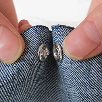 11mm Clavijas de Metal Plateado Botones Huecos Sujetadores Botones de presi/ón para Ropa Infantil Camisa Ropa Baberos Mameluco HEEPDD 50pcs Botones a presi/ón