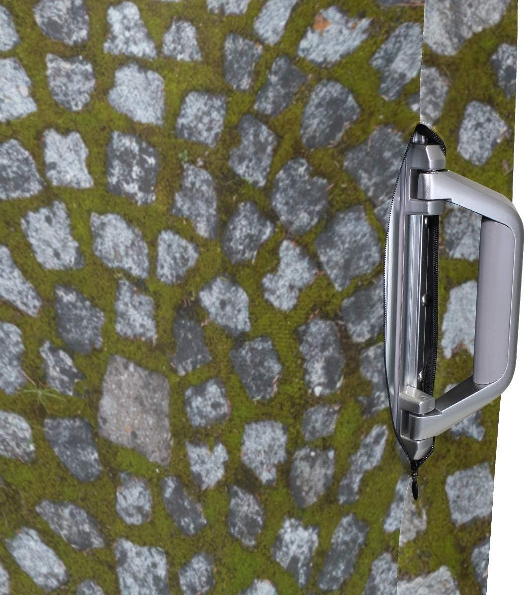 FANTAZIO Shape Granite Circle Suitcase Protective Cover Luggage Cover