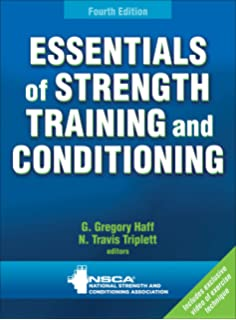 Amazon com: Essentials of Strength Training and Conditioning - 3rd