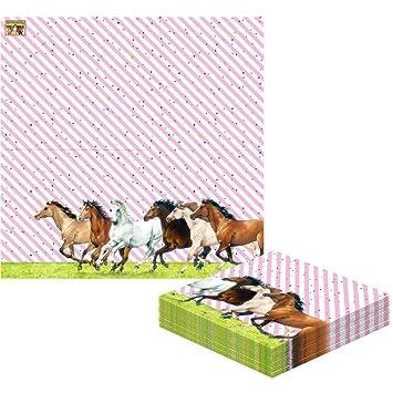 Servilletas de papel Amigo de los caballos. Decoracion ...