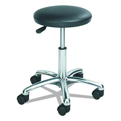 Safco Products 3434BL Economy Lab Stool, Black