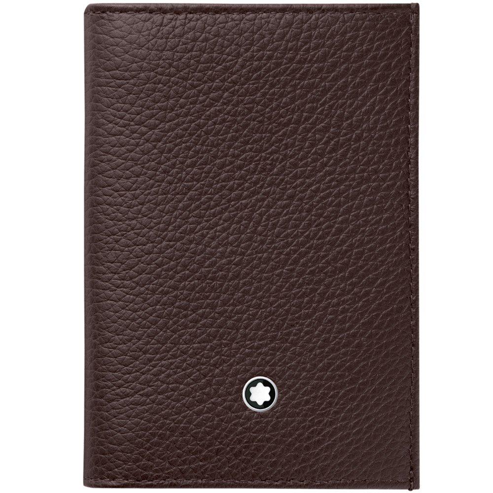 Montblanc 114474 Meisterstück Soft Grain Business Card Holder Wallet