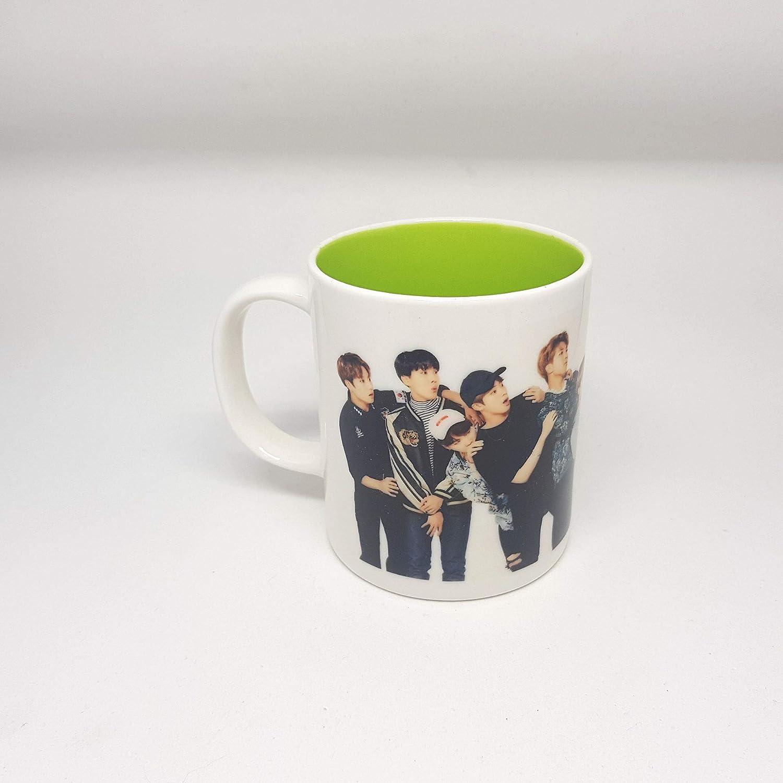 regalo coreano BTS Kpop merchandise Army Bangtan Boys 17 AMAs Ver. tazza in ceramica con scrittaLove Yourself Fake Love