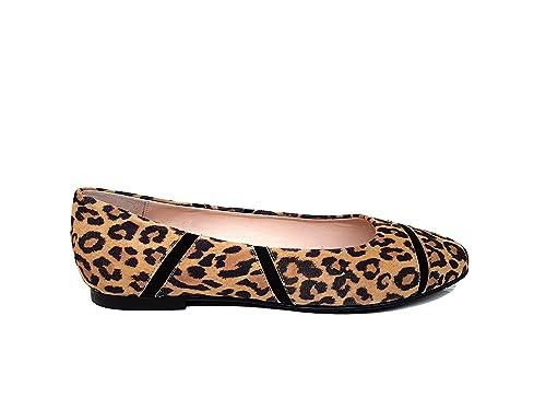 Bailarinas Planas de Mujer en Piel y Punta Fina Cerrada para Mujer + Tacón  1 cm  Amazon.es  Zapatos y complementos 927853fd25ce3