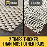 GRIP MASTER 2X Extra Thick Area Rug Cushioned