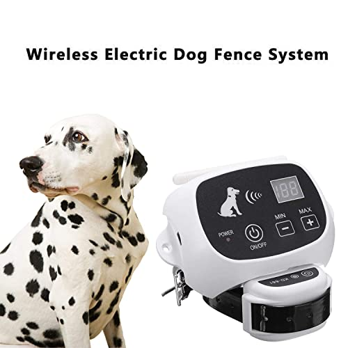 Qiaostore Wireless Dog Fence System Outdoor Electronic Fencing Device Review