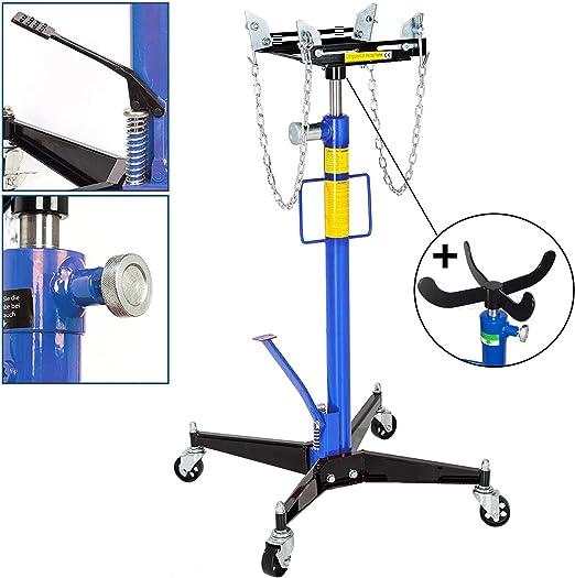 JOMAFA - Gato de foso hidráulico para motor y transmisión elevador + ADAPTADOR. 500 kg: Amazon.es: Bricolaje y herramientas