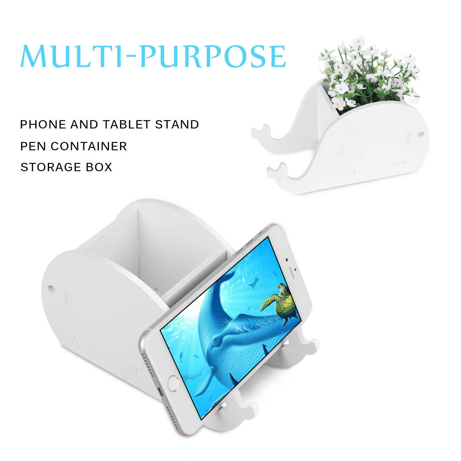 Cell Phone Stand Cute Elephant Phone Stand Tablet Desk Bracket With Pen Pencil Holder Compatible Smartphone Desk Decoration Mu Reputation First Pen Holders